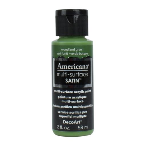 Americana Multi-Surface Satin  -Woodland Green