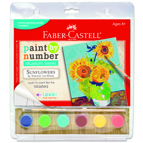 Paint By Numbers Museum Series Kits - Sunflowers