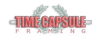 Time Capsule Framing Logo, Prints, Frames, Posters