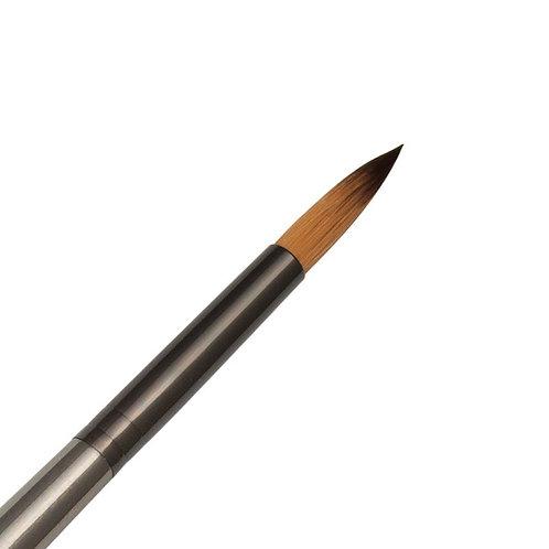 Zen Series 73 Synthetic All Media Short Handle Brush - Round 10