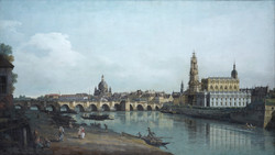 Dresden seen from the Right Bank