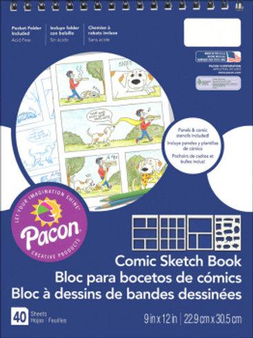 Pacon Comic Sketch Book
