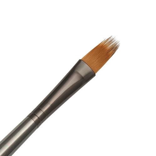 """Zen Series 73 Synthetic All Media Short Handle Brush - Filbert Comb 3/8"""""""