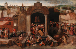 Christ Driving the Traders
