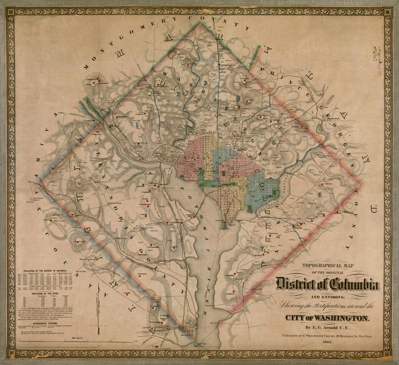 Washington, DC 1862