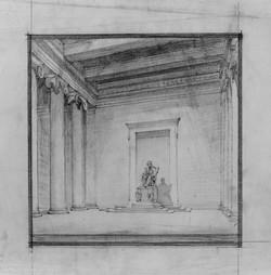 Concept Sketch of Lincoln Memorial 2