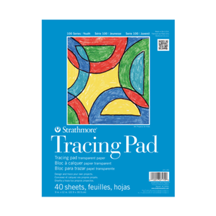 Strathmore Kids Tracing Paper Pad 9x12