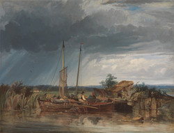 Two Fishing Boats on the Banks