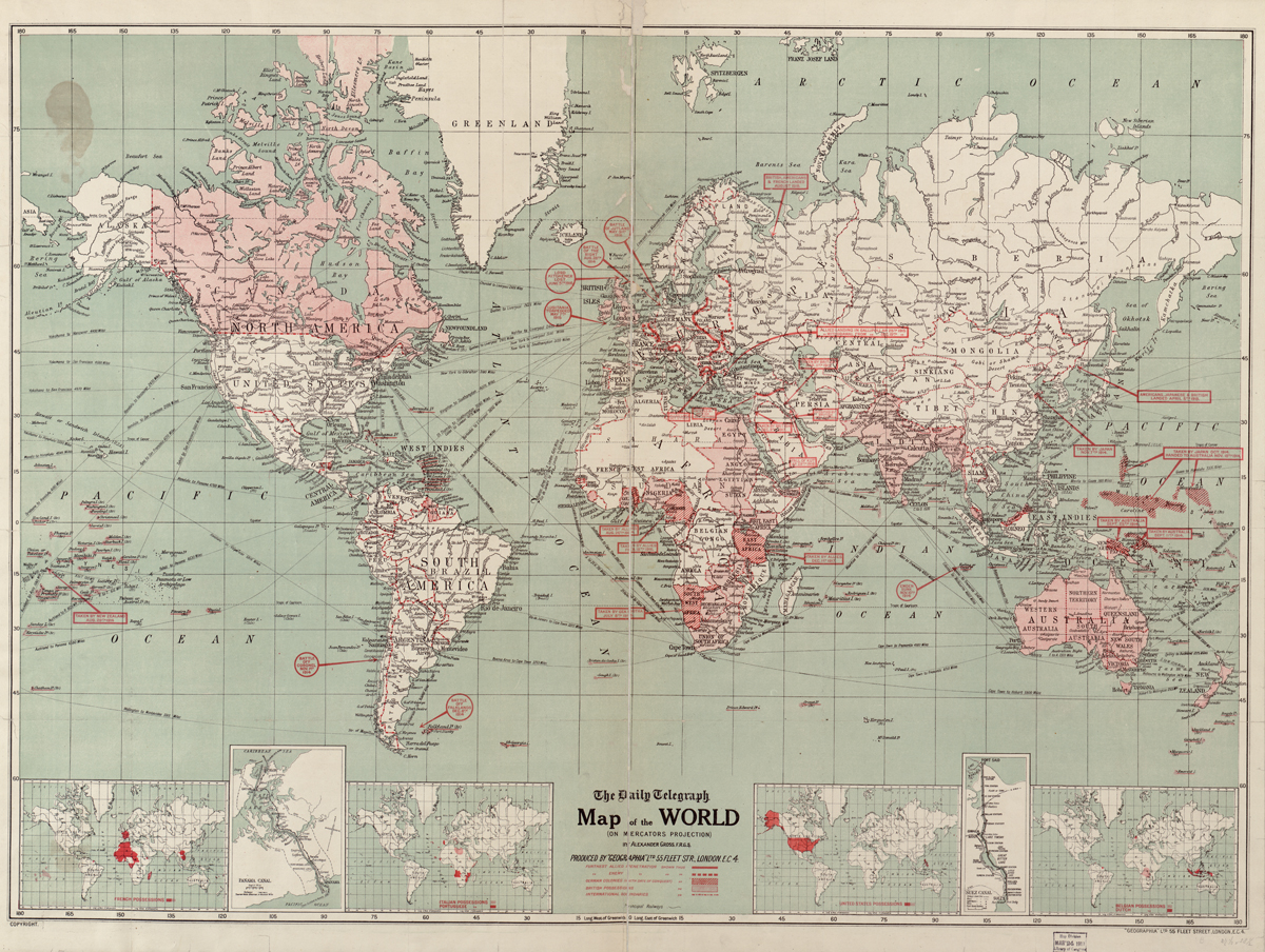 World Map First World War