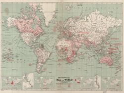 World Map First World War