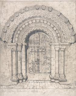 North Doorway of Hales Church