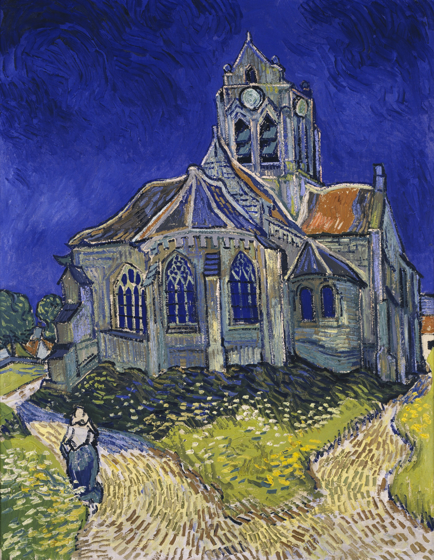 The Church in Auvers-sur-Oise