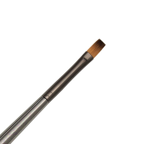 Zen Series 73 Synthetic All Media Short Handle Brush - Flat Shader 6