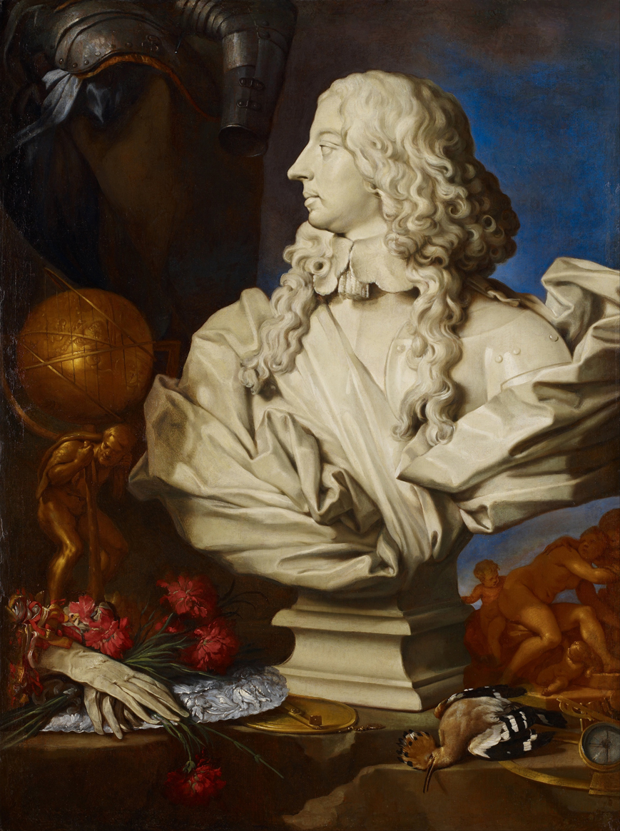 Still Life with Bernini's Bust
