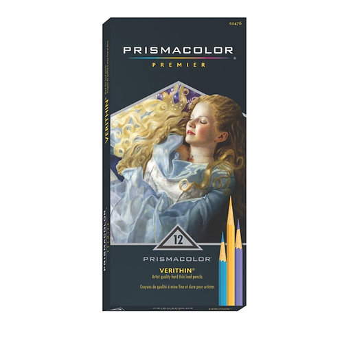 Prismacolor Verithin Colored Pencil Set - 12