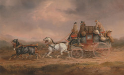 Mail Coaches on the Road