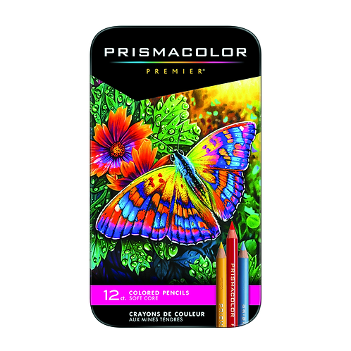 Prismacolor Premier Thick Core Colored Pencil Set - 12