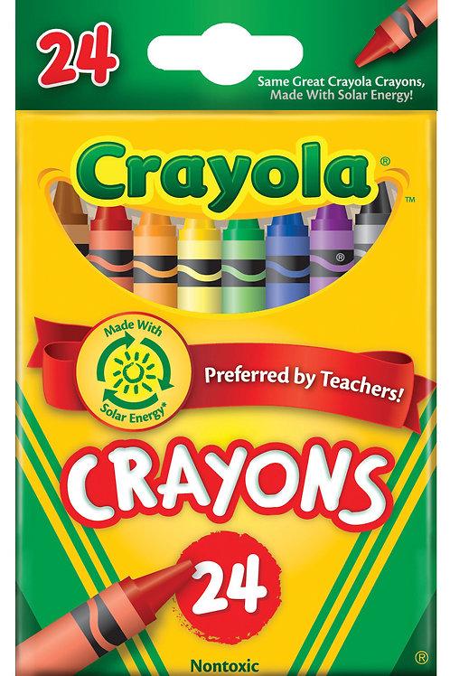 Crayola Crayons 24 Color Set