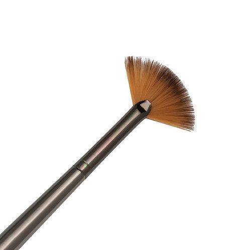 Zen Series 73 Synthetic All Media Short Handle Brush - Fan Blender 2/0