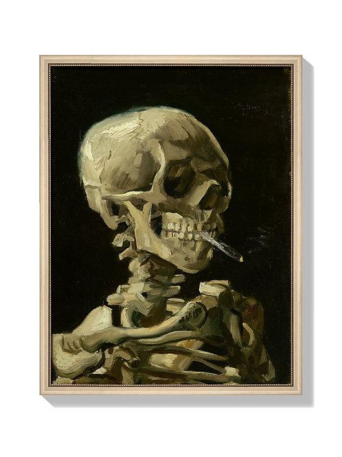 Head of a Skeleton