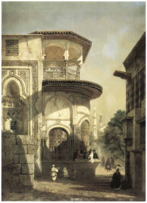 Mosque on a Street Corner