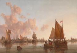 Sailing on a Dutch Estuary