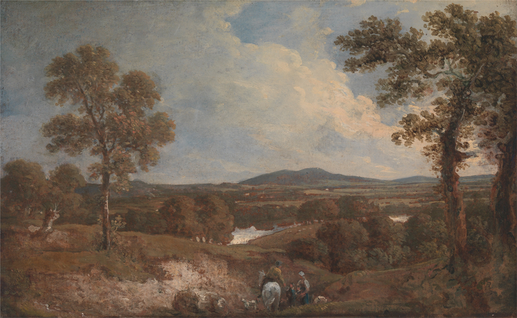 Landscape with Figures in the Foregr