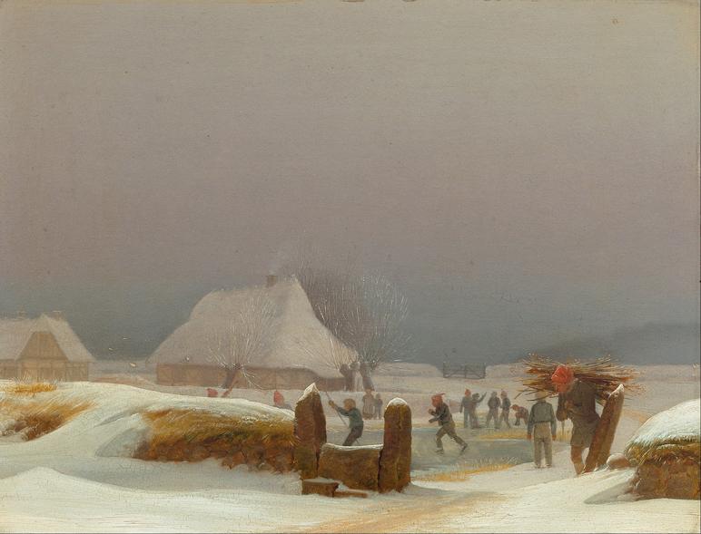 Winter Landscape from Funen