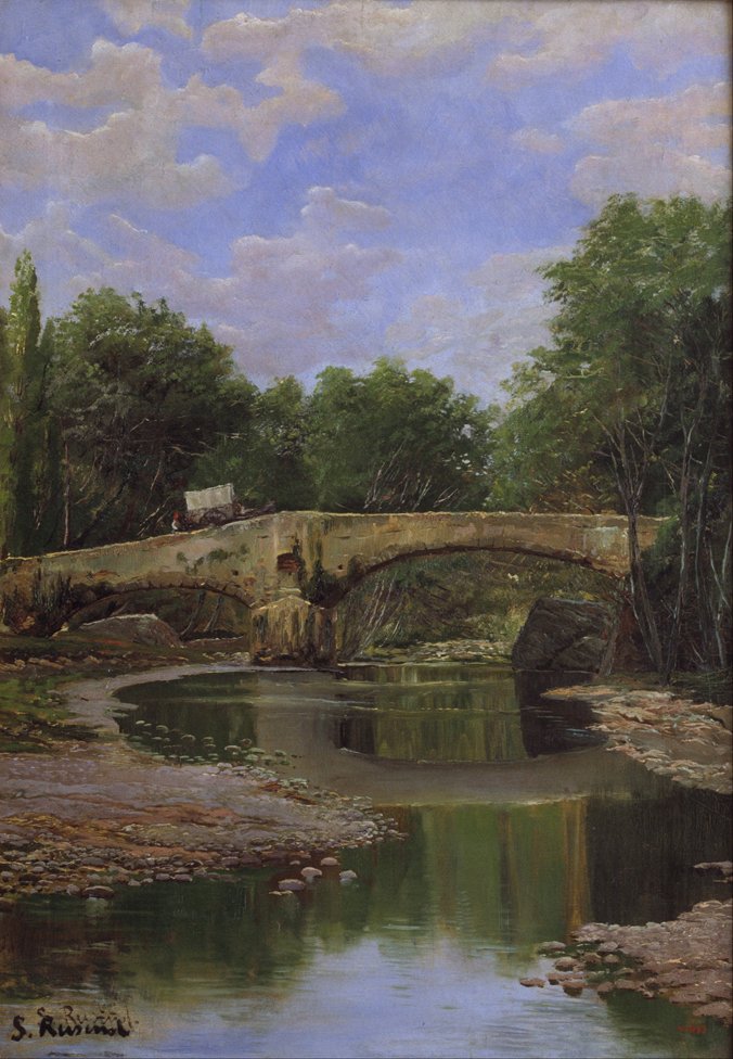 Bridge Over a River