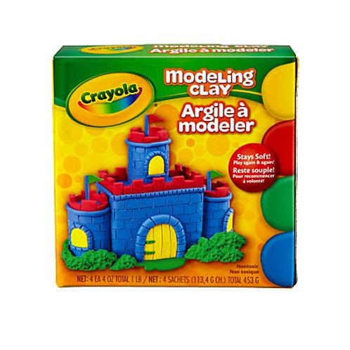 Crayola Modeling Clay - Basic Colors, 1 lb