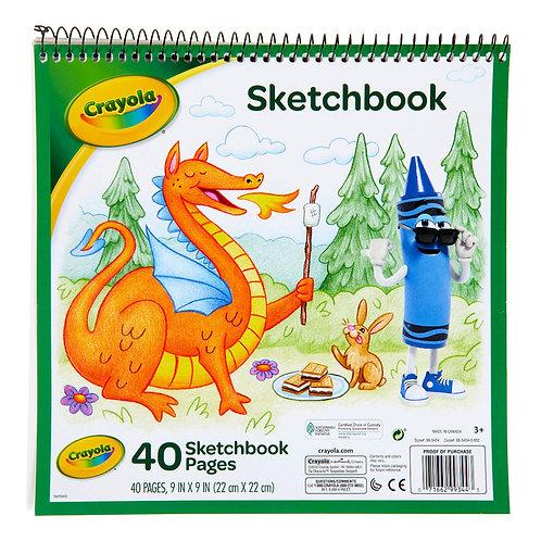 "Crayola Sketchbook, 9"" x 9"""