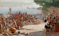 Departure of the Monção