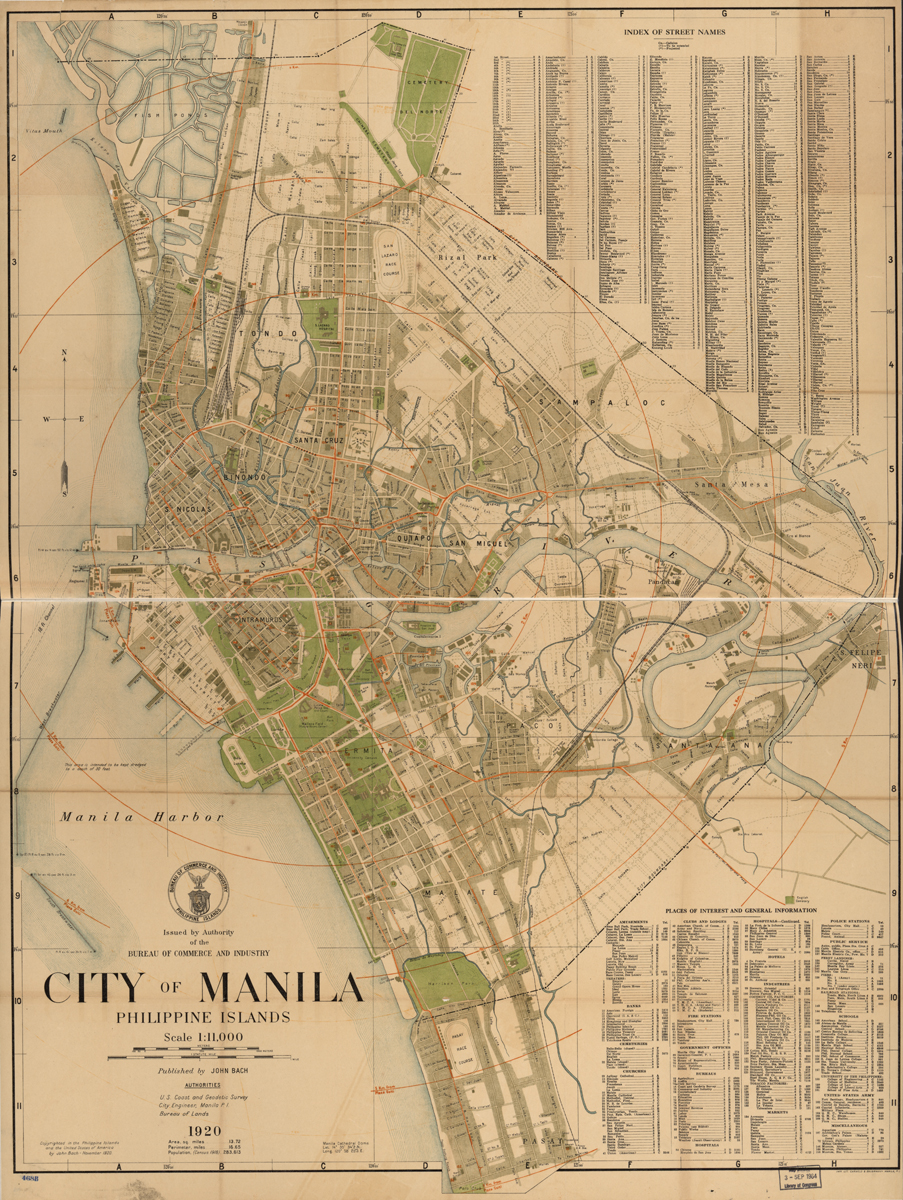 Manila, Phillipines 1920