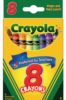 Crayola Crayons 8 Color Set