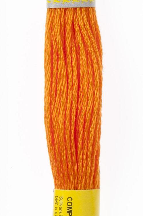 Sullivans Embroidery Floss - Medium Tangerine