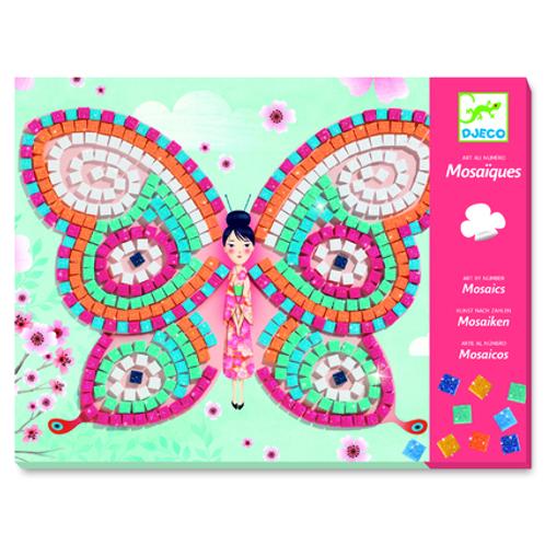DJECO Mosaics Petit Kits - Butterflies