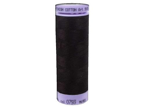 Mettler Silk Finish Cotton Thread 50 wt. 164 yd. #0793 Mahogany