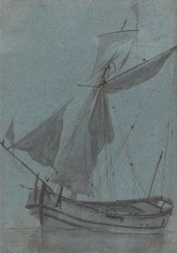 A Coastal Barge