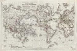 World Telegraph Map