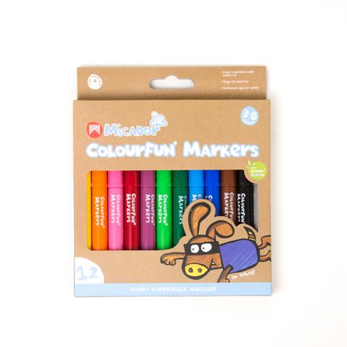 Micador Jr Colourfun 12-Marker Set