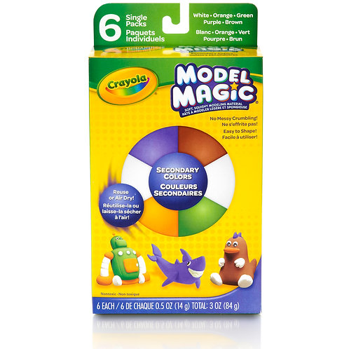 Crayola Model Magic - Secondary Colors 6 Count
