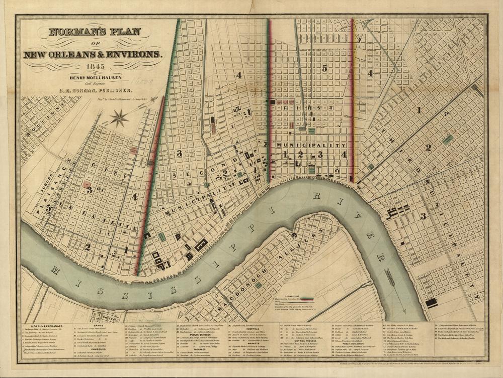 New Orleans, LA 1845