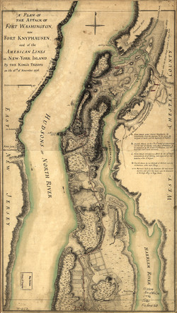 Fort Washington Attack Map