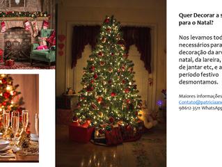 Ainda da tempo, quer decorar a sua casa para o Natal?
