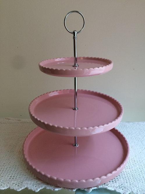 Suporte Cupcake Rosa
