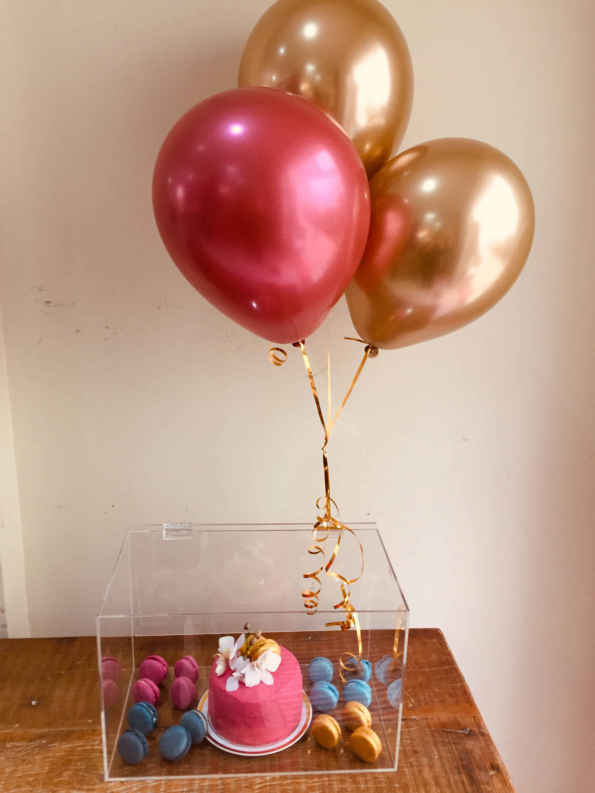 party box cristal