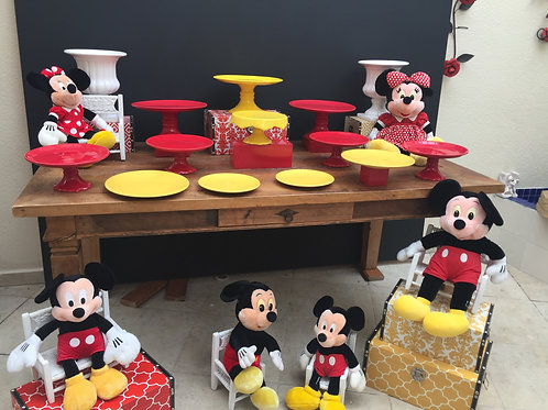 KIT LOCACAO INFANTIL MINNIE VERMELHA KIT528