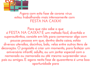 FESTA NA CAIXA DELIVERY