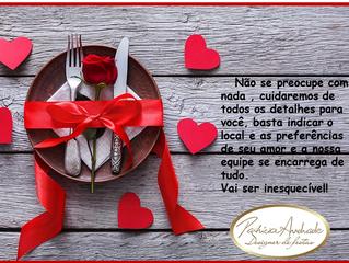 O dia dos namorados está chegando, que tal surpreender seu amor com um jantar especial...