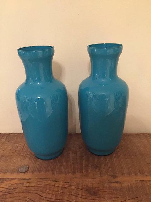 Vaso Azul Tiffany medio